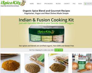 spice website Design